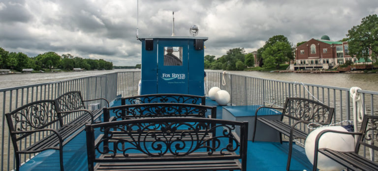 River Tyme Riverboat Top Deck